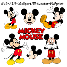 mickey mouse svg mickey mouse logo mickey mouse clipart