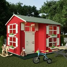 wooden log cabin billyoh mad dash 3 0 x 2 5m annex log cabin wooden playhouse www