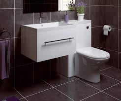 Combination Vanity Units For Bathrooms by Thorpe White 600 Extra Depth Wall Hung Sink Combination Unit Set