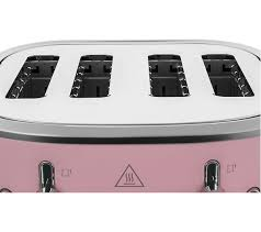 Buy Russell Hobbs Bubble 24412 4 Slice Toaster Pink Bubble