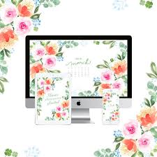 digital blooms march 2018 free desktop wallpapers justinecelina 1002 best desktop wallpaper images on computer screen