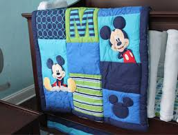 Mickey Mouse Baby Bedding Mickey Mouse Crib Set Kmart Baby Crib Design Inspiration