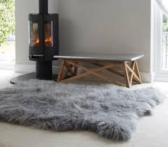 large sheepskin rug rugs ideas