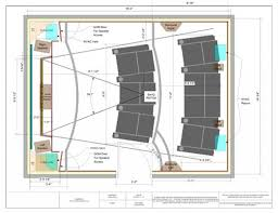 home theater design floor plan