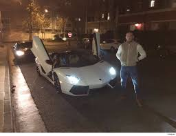 crashed lamborghini soccer star allegedly crashes lambo into garden tmz com