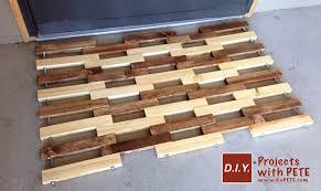 Hardwood Floor Mat How To Make A Wooden Floor Mat Free Plans