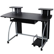 bureau pour ordi songmics bureau informatique table informatique meuble de bureau