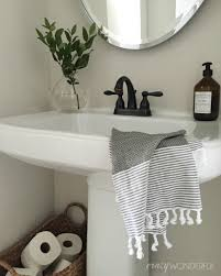 bathroom sink bathroom storage ideas with pedestal sink pedestal