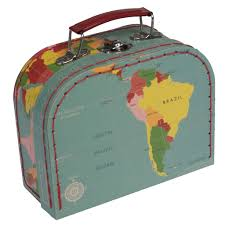 travel cases images Set of 3 world map travel cases rex london dotcomgiftshop jpg