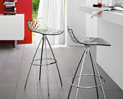 calligaris bar stool ice barstool non swivel by calligaris pomphome