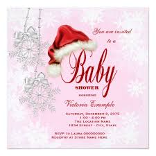 Christmas Baby Shower Invitations - personalized winter wonderland invitations custominvitations4u com
