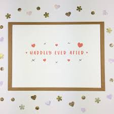 happy engagement card k designs happily after hearts kisses a6 card