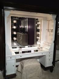 vanity table with lighted mirror and bench makeup vanity table vanity set with stool in cherry led desk l
