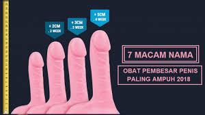 7 macam nama obat pembesar penis paling ampuh pilihan pria