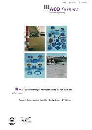 aco technologies aco fulbora product catalogue by michael james