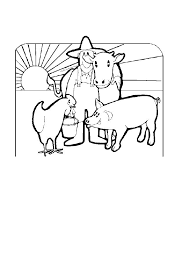 free farm animal coloring pages farm coloring pages moms who think