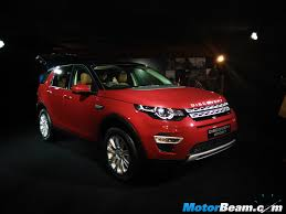 land rover discovery sport red land rover discovery sport 2 0 ingenium launched in india