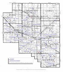 Oak Park Illinois Map by Moultrie Cemeteries