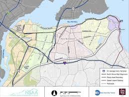 Staten Island Bus Map North Shore Brt 5 Million Secured For Environmental Design Work