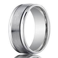 mens wedding band designers 950 platinum designer men s wedding band polished edges 6mm