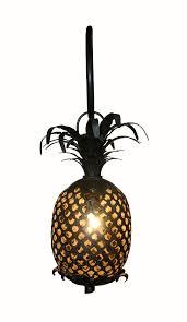 pineapple sconce rustic folk wall lighting dering hall