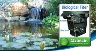 Aquascape Biofalls Waterfall Pond Filter Installation Repair Service