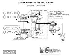 humbuckers 5 way rotary switch 1 volume 1 tone 05