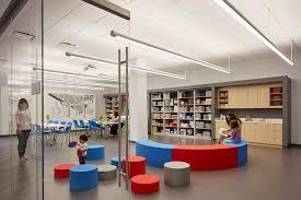 Interior Design Library by Gensler Designed Children U0027s Library Opens At Chicago U0027s Harold