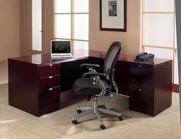 Office Star Computer Desk by Kenwood Executive Office Furniture And Computer Desk In Mahogany
