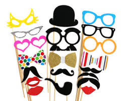 wedding photo props on a stick 30 piece set get marry mr and