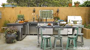 kitchen built in bbq grill outdoor cooking station outside sink