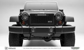 jeep truck black t rex jeep wrangler zroadz series main insert grille w one