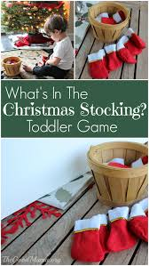 what u0027s in the christmas stocking toddler game the good mama