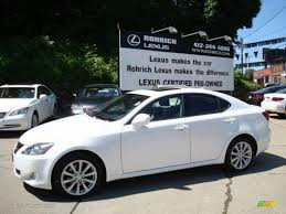 white lexus is 250 2008 starfire white pearl lexus is 250 awd 10504487 gtcarlot
