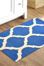 Woven Cotton Area Rugs Flat Woven Cotton Rug Blue Handmade Cotton Flat Woven Flat Weave