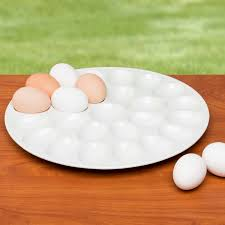cheap deviled egg tray zak designswhite deviled egg tray holds 24 deviled eggs