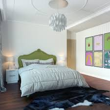 Modern White Home Decor by Modern Pop Art Style Apartment