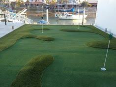 Diy Backyard Putting Green by New Backyard Turf With Putting Green Ideas For Business