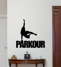 aliexpress com buy parkour wall decal extreme sport vinyl aliexpress com buy parkour wall decal extreme sport vinyl sticker gym poster decor art mural from reliable stickers mix suppliers on mirage store
