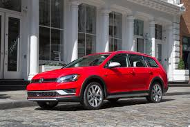 vw considers making an electric 2017 volkswagen golf alltrack hit the minor trails and bring