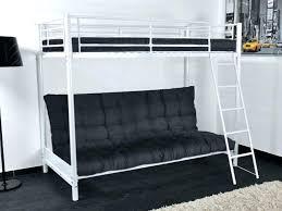lit mezzanine et canapé lit mezzanine 2 places avec canape futon 1 place banquette