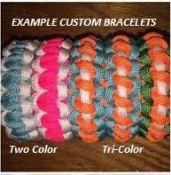mult color paracord bracelets courtmadeit com