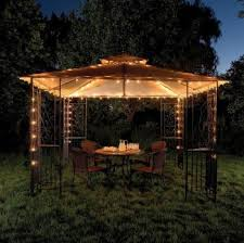 using christmas lights to brighten outdoor space year round