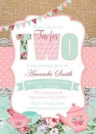 tea for two invitation tea party invitation tea party birthday