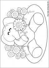 pocoyo coloring pages coloring book pocoyo