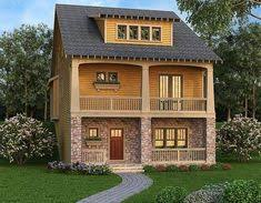 front sloping lot house plans plan 14633rk master on modern house plan modern house