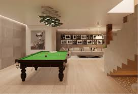 sleek private pool room interior design ideas