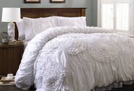 bedding set extraordinary gray ruffle duvet cover charming grey