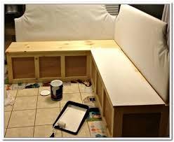 diy corner bench with storage home design ideas