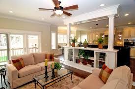 Kitchen Living Room Open Floor Plan Open Living Room Kitchen Designs Homes Abc